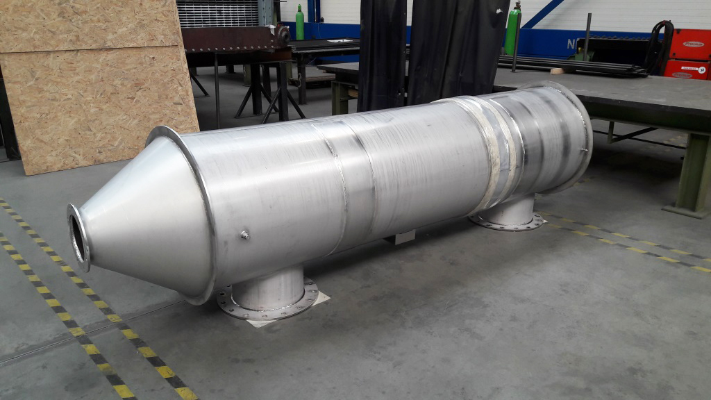 Syngas Air heat exchanger shell and tube