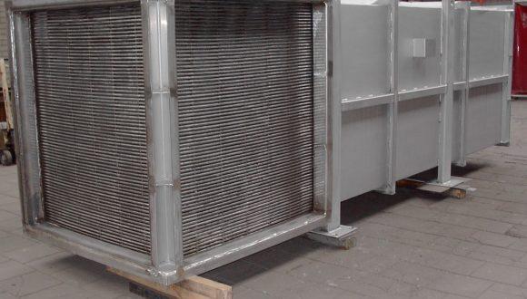 tubular rectangular heat exchanger stainless steel