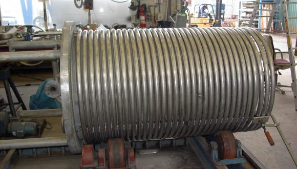 heat exchanger shell and coil design
