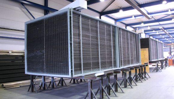 Luchtvoorverwarmer productie