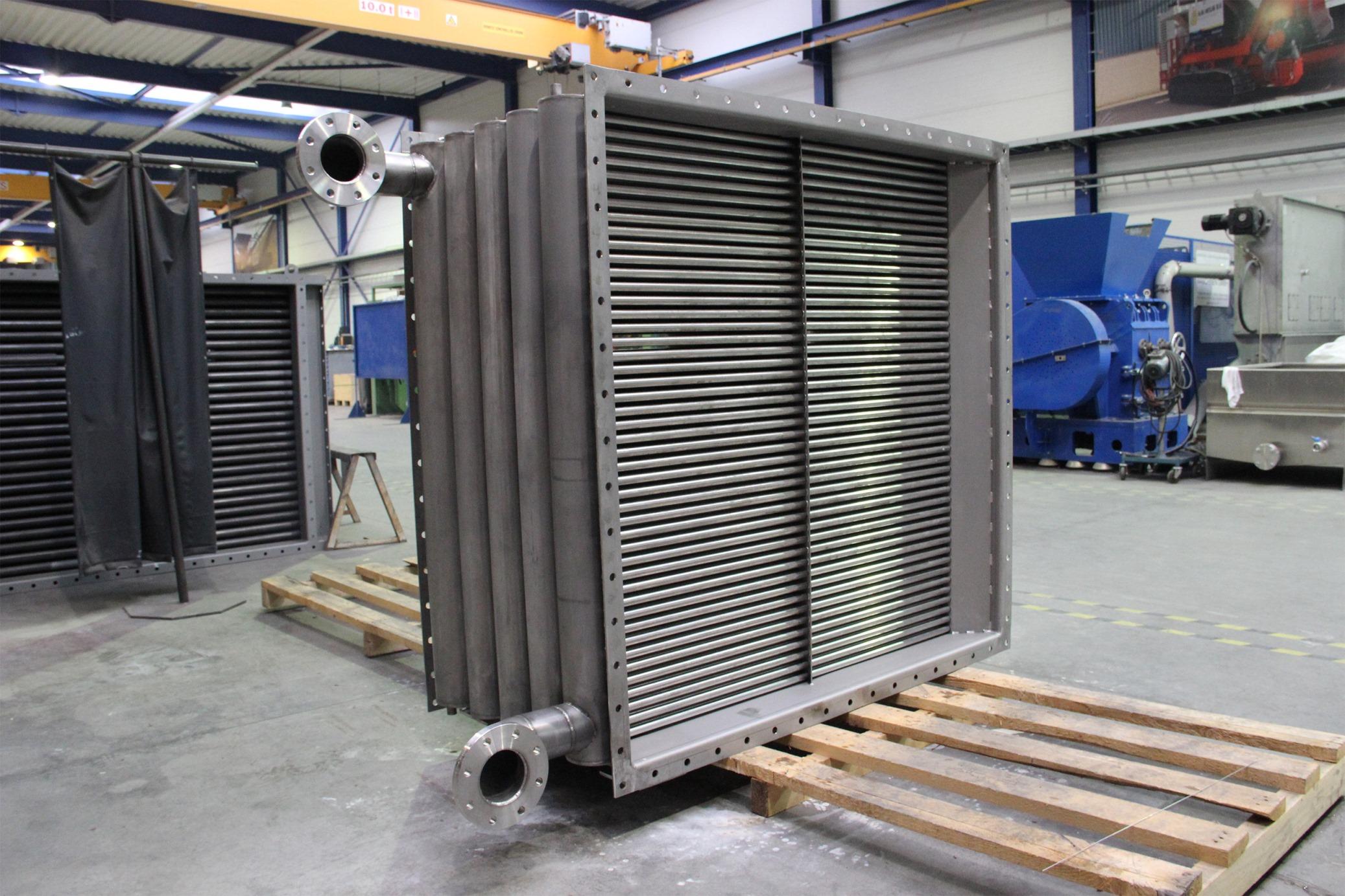 Flue Gas Heat Exchanger Geurts