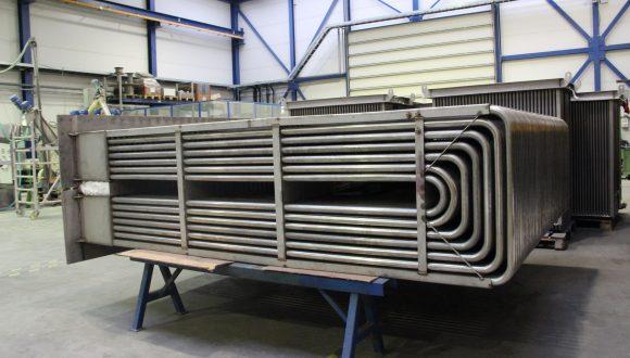 Flue gas cooler Air heater manufacturing