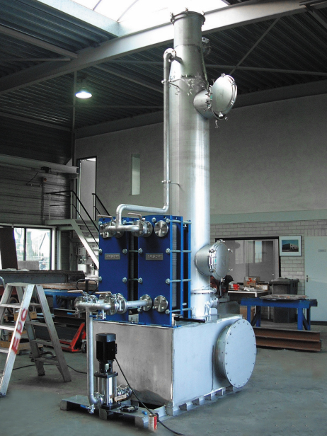 Plate heat exchanger manufacturing