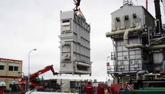 Steam air preheater installation