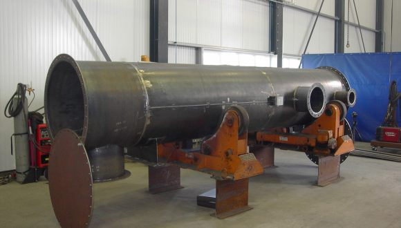 Large shell tube heat exchanger
