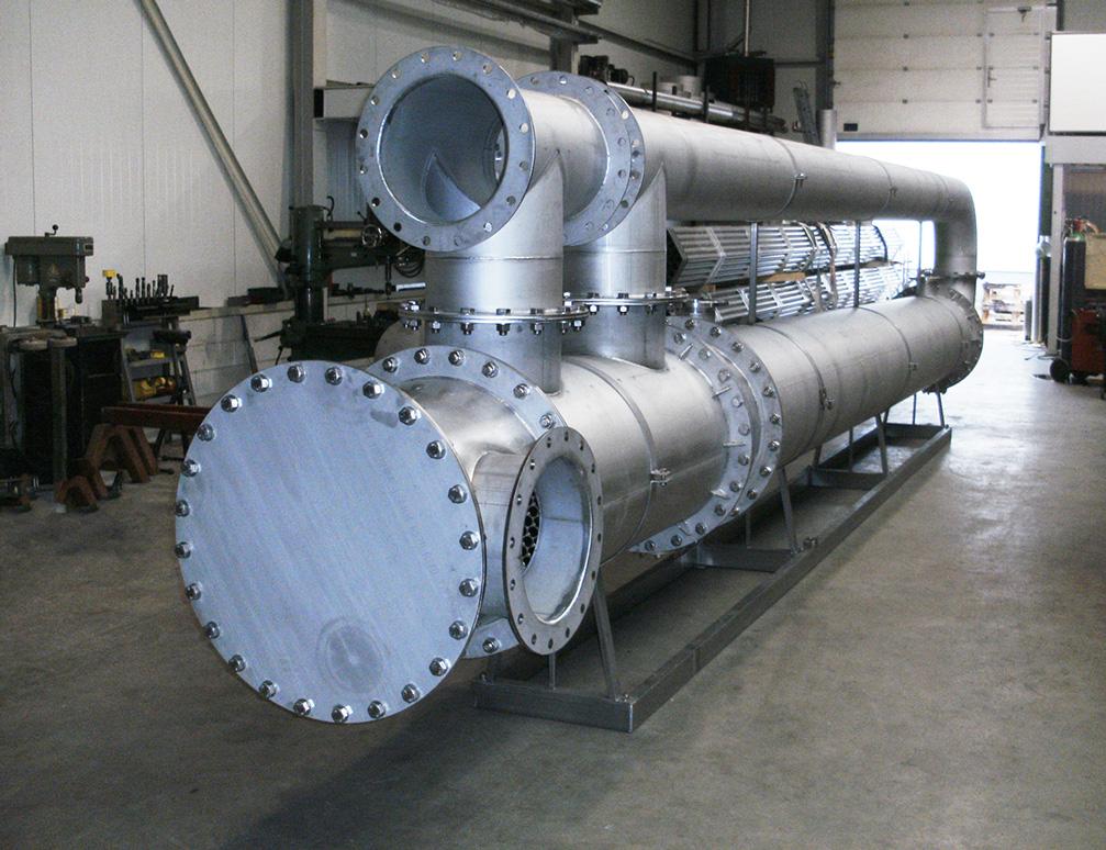 Biogas-Kühlung Heizwärmetauscher