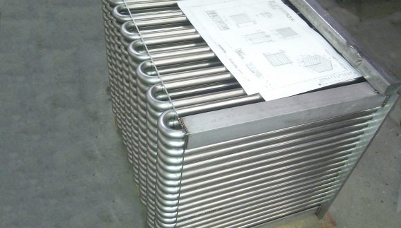 space saving u-tube heat exchangers