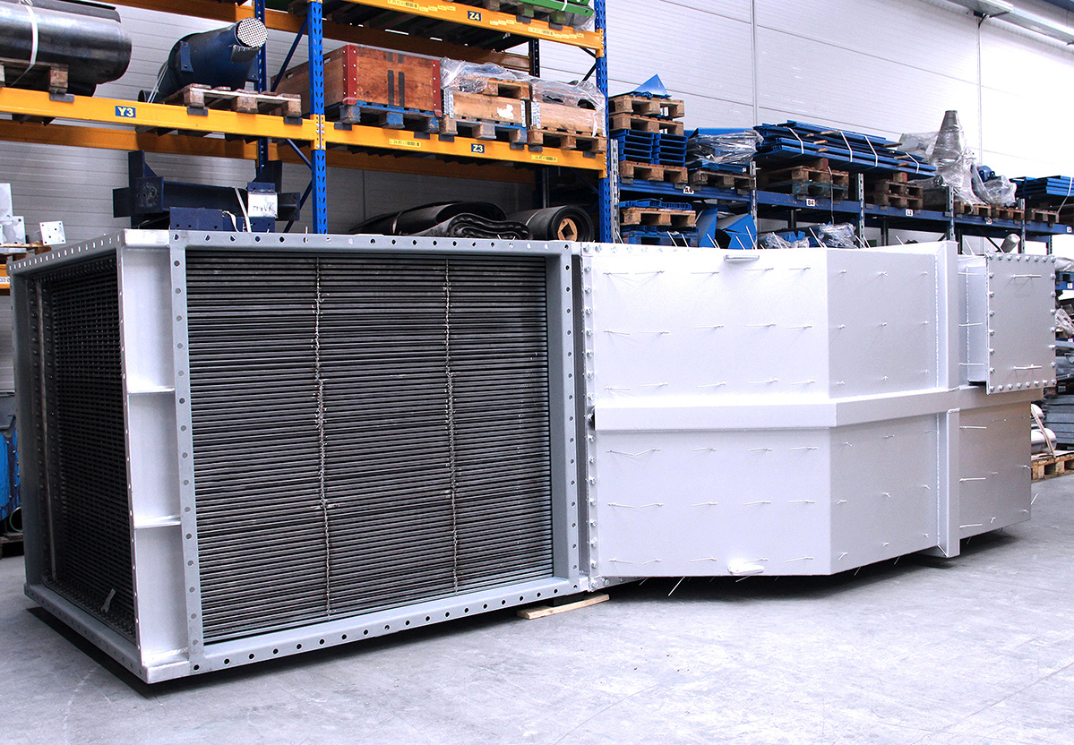 Industrial Air preheaters for a combustion system