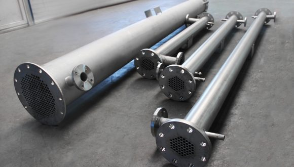 Shell & Tube heat exchangers for Biogas