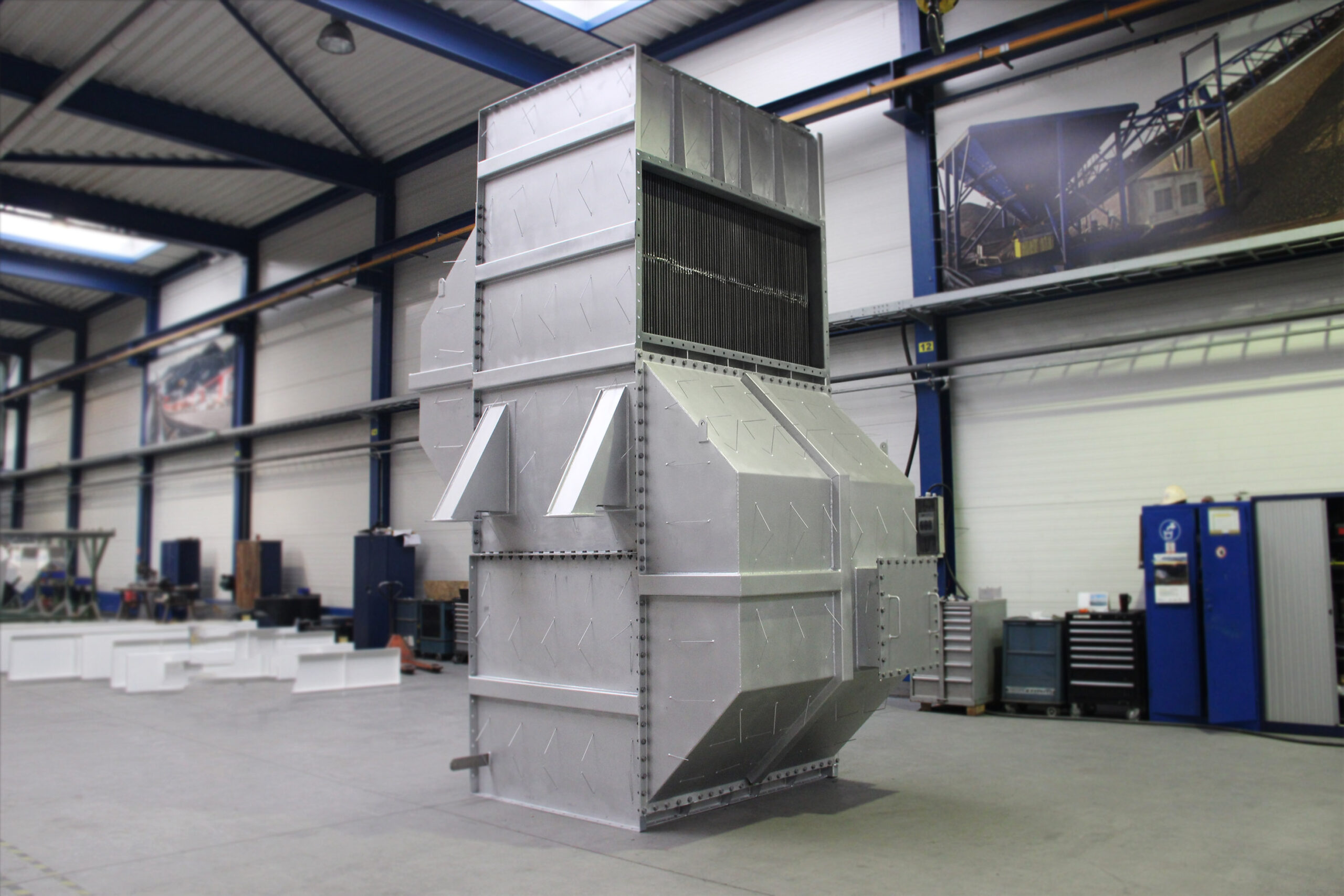 Air preheater system for refinery project