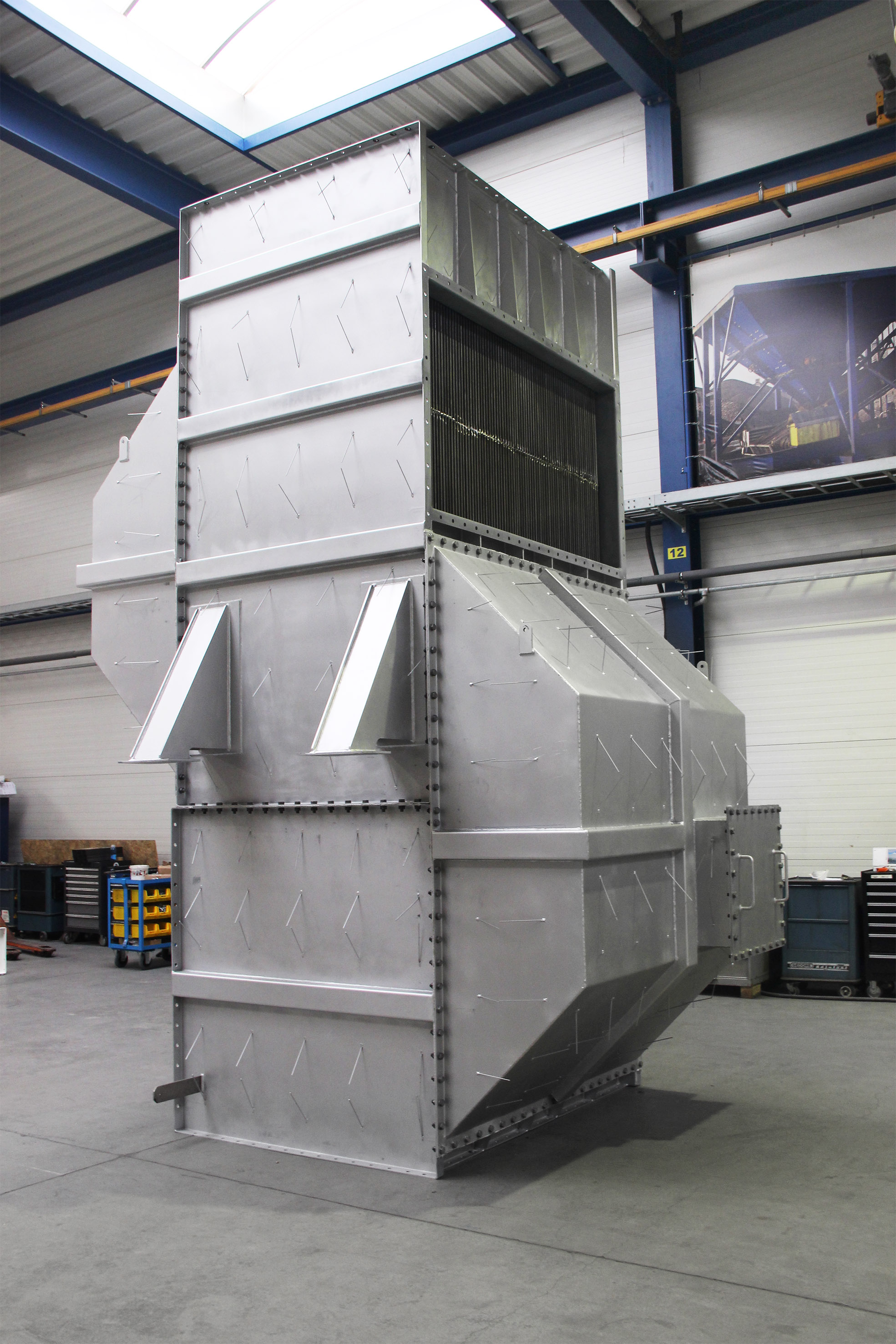 Air Preheater System For Refinery Project  U2013 Geurts