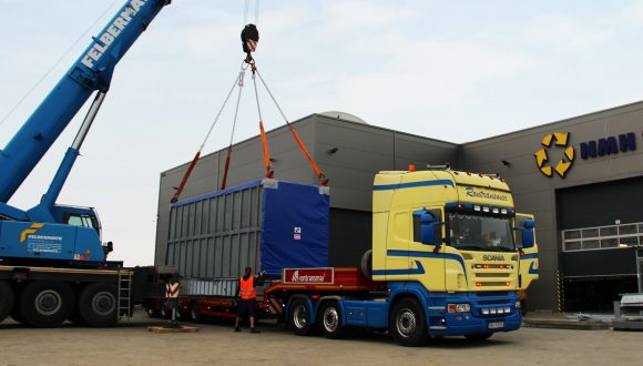 cold air preheater transport