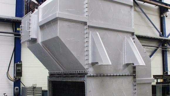 voorverwarmer voor een verbranding systeem