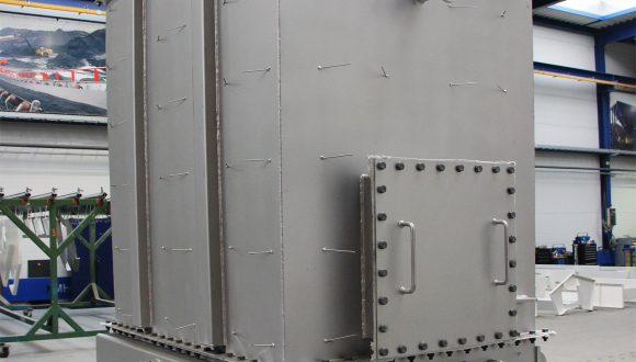combustion air preheater