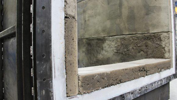 furnace recuperator concrete