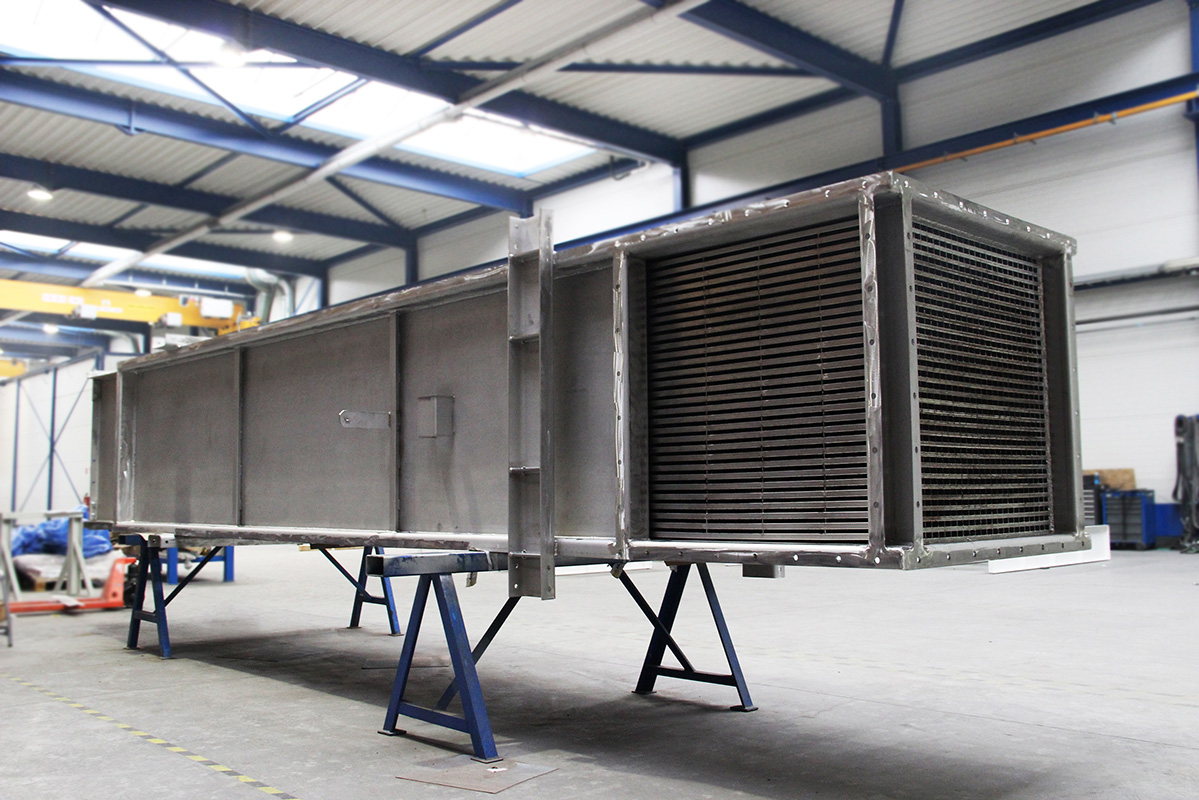 Flue gas cooler – Air preheater for Paper Mill
