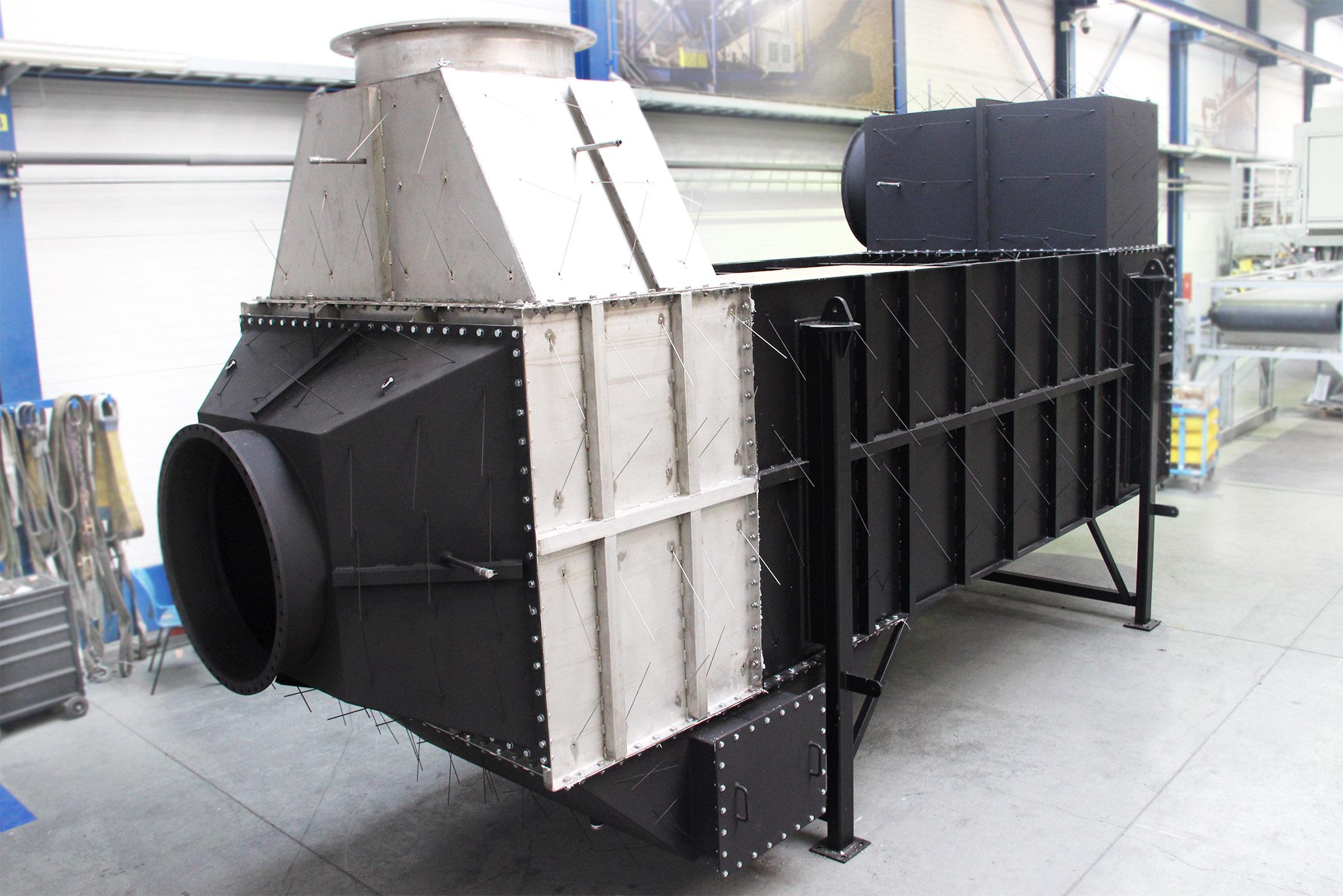 air preheaters for quartz glass production plant