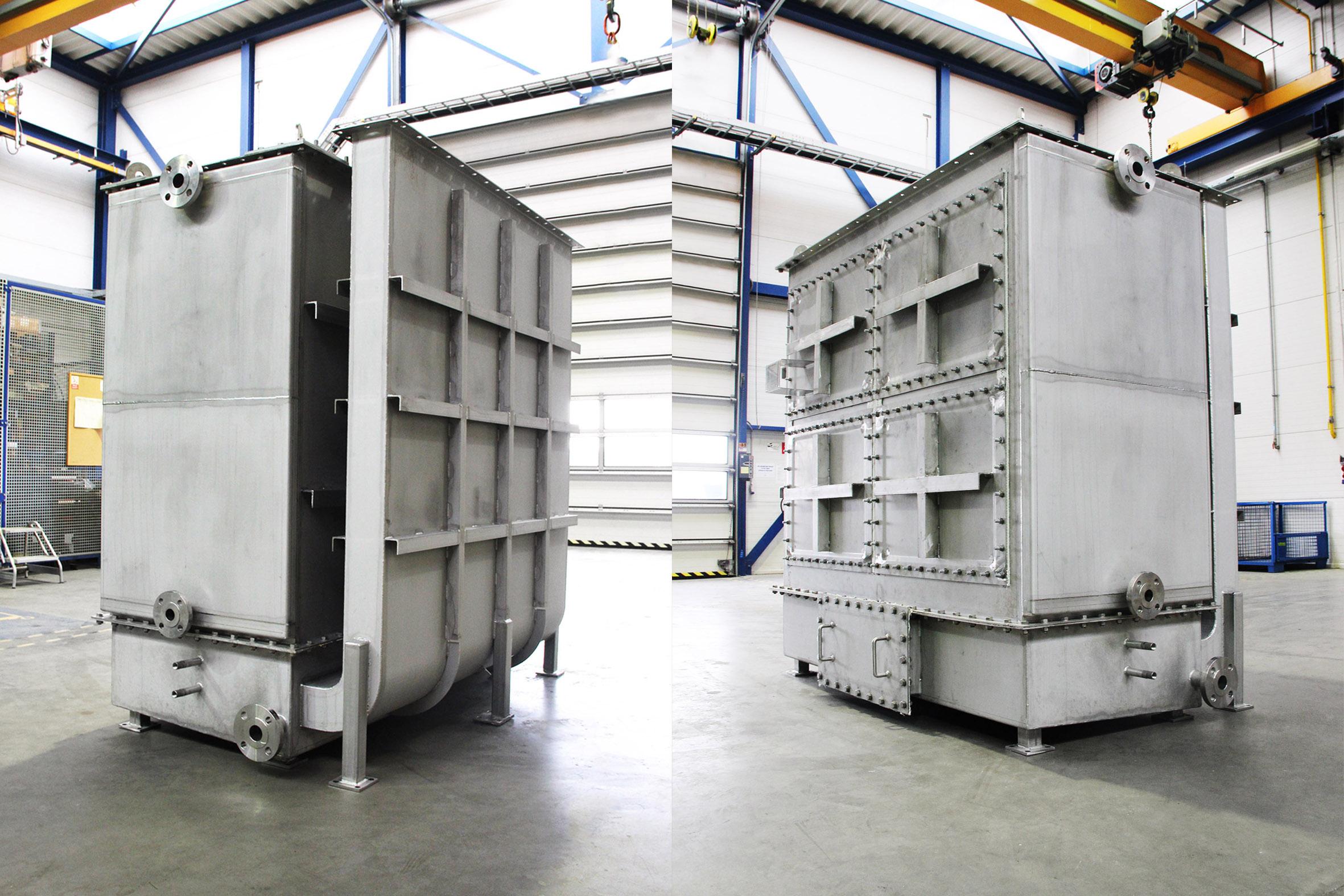 Toluene Evaporator for ORC system