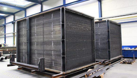 Air preheater manufacturing