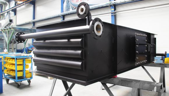 Flue gas - Water heat exchanger (2)