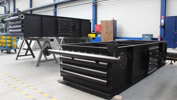 Flue gas - Water heat exchanger manufacturing
