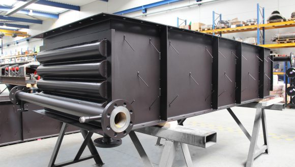 Gas-water heat exchanger manufacturing