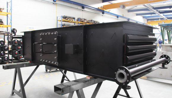 heat exchanger for industrial boiler