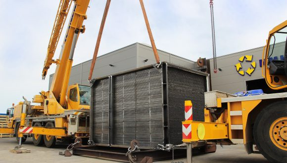 ongoing project Air preheater