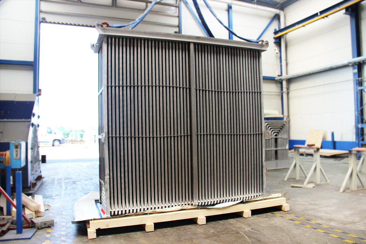 Recuperator for furnaces for the steel and aluminum industries