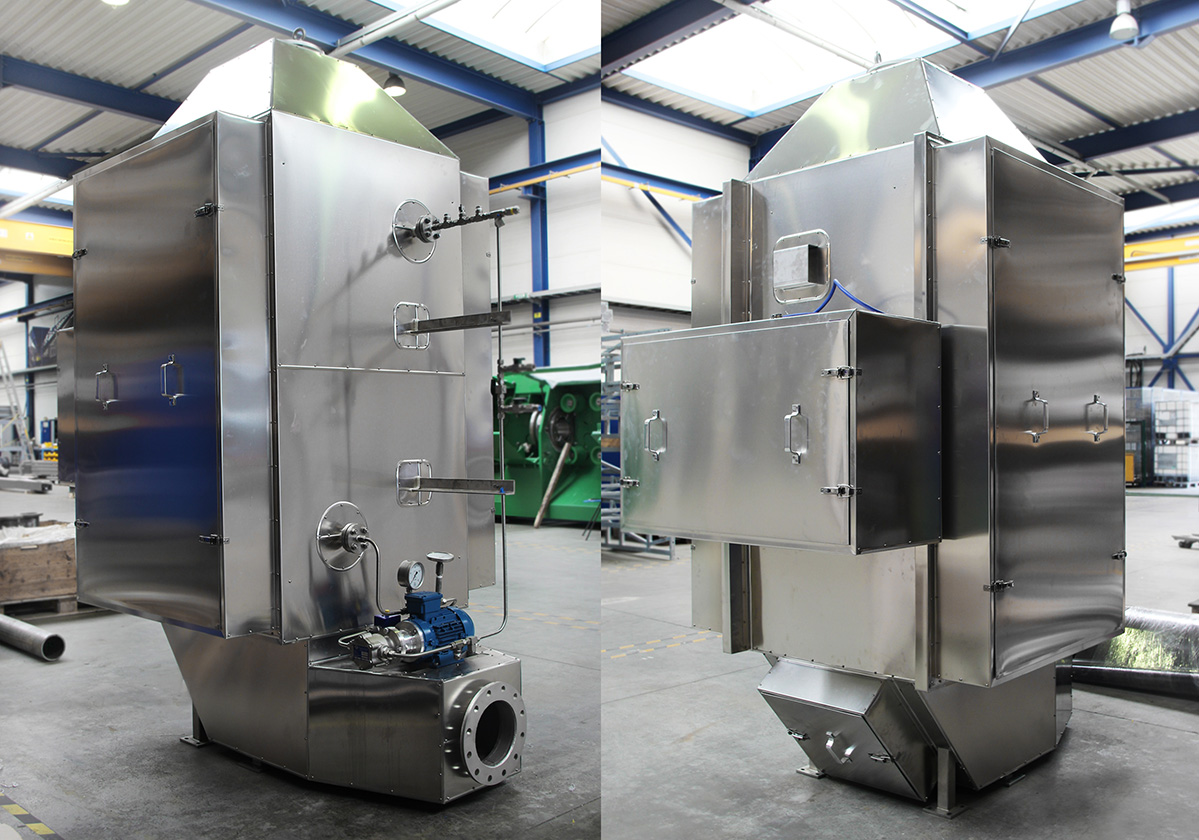 R&D: Increased efficiency economizers biomass boilers