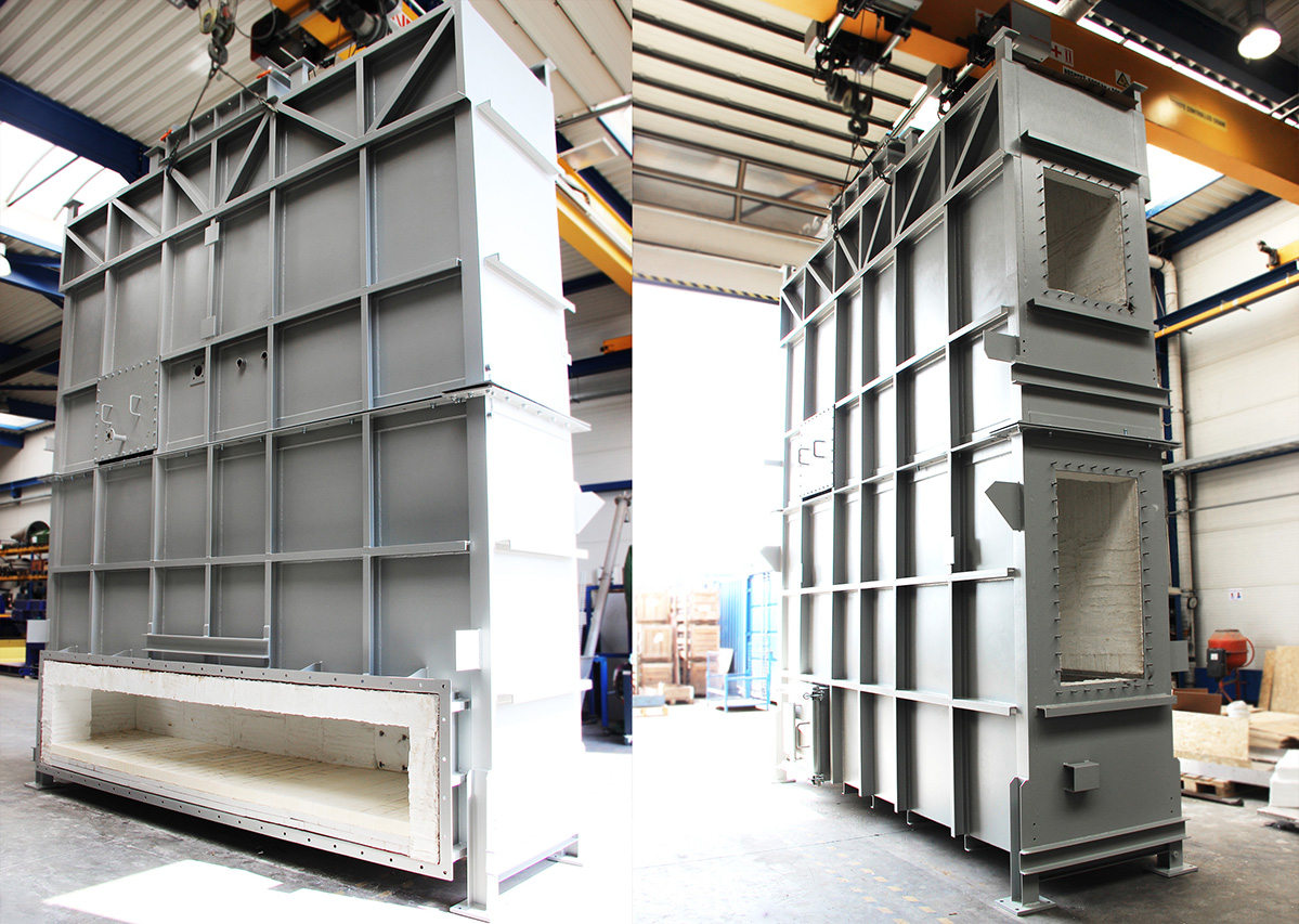 Heat exchanger for application in the chemical industry