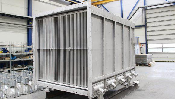 Rohrförmige Dampf-Luft-Wärmetauscher