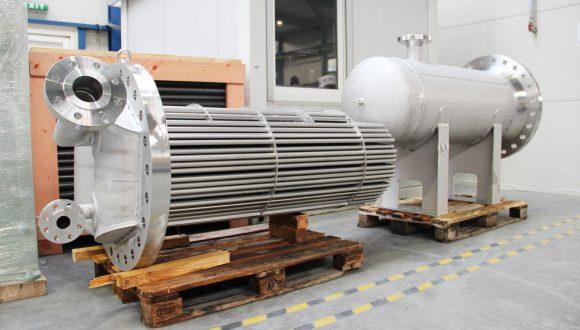 gas-gas heat exchanger