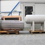 gas-gas heat exchanger production