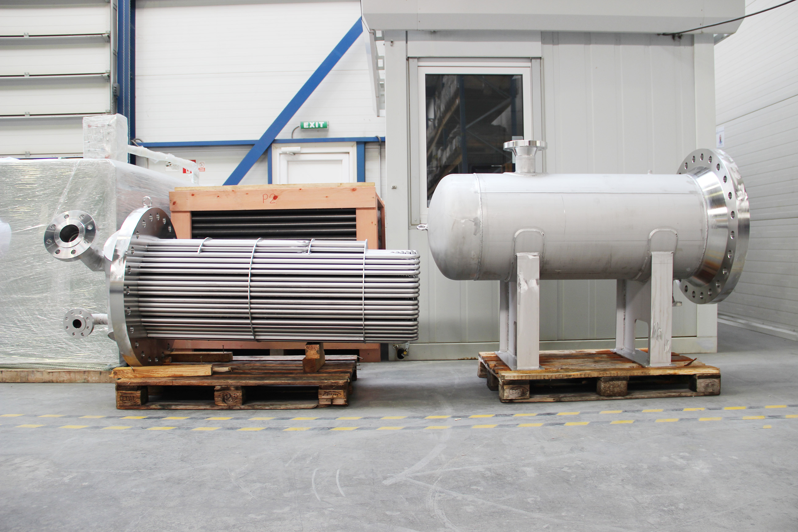 Gas-Gas Shell & tube heat exchanger