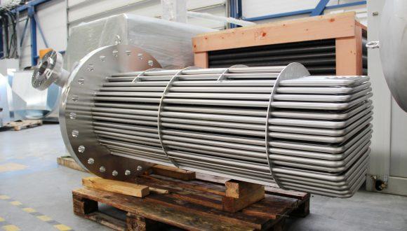shell & tube heat exchanger custom made