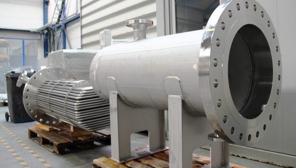 shell & tube heat exchanger stainless seel casing