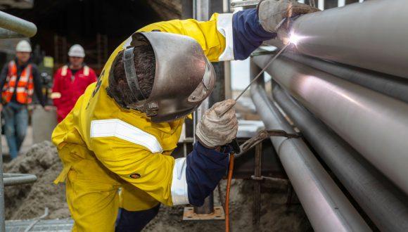 welding heat exchanger