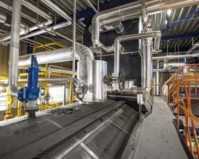 Heat exchangers for 30 megawatts