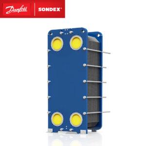 SONDEX Free Flow plate heat exchanger