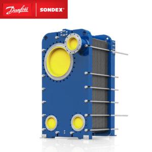 SONDEX plate condenser