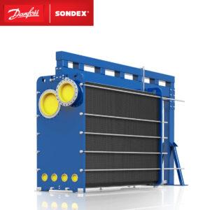 SONDEX plate evaporator