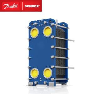 SONDEX semi-welded platenwarmtewisselaar