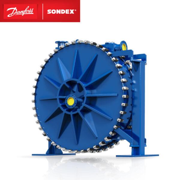 SONDEX spiral heat exchanger