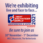 Meet us at the Heat Exchanger World