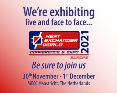 Besuchen Sie uns auf der Heat Exchanger World